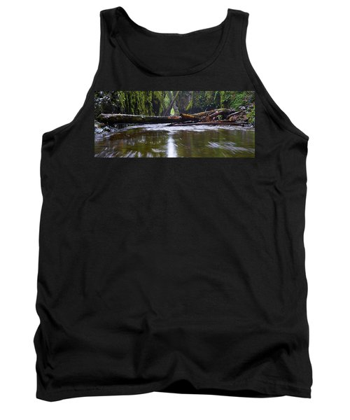 Tank Top featuring the photograph Oneonta Pano by Jonathan Davison