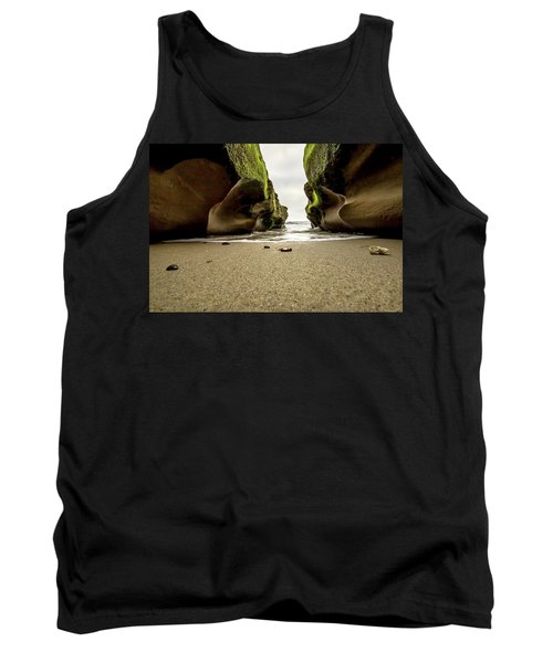Only At Low Tide Tank Top by Ryan Weddle