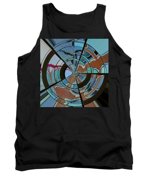 Tank Top featuring the photograph Op Art Windows Orb by Marianne Campolongo