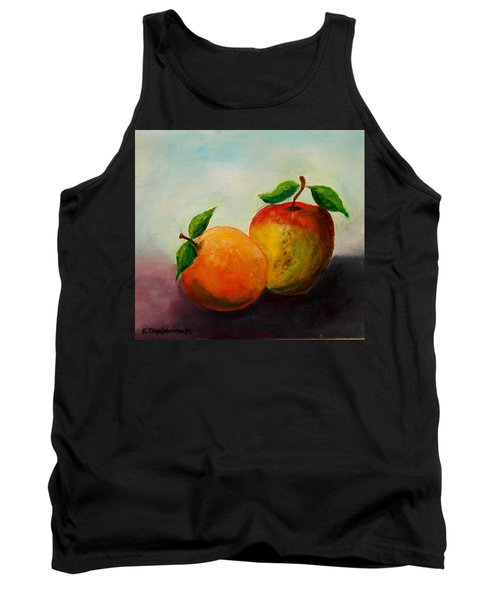 Apple And Orange Tank Top