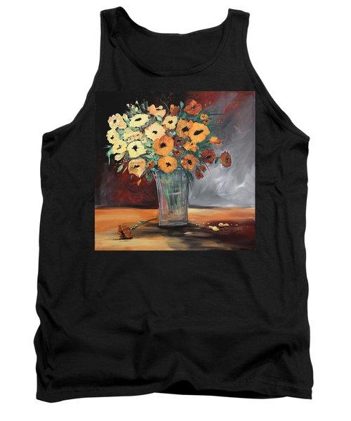 Orange Blossoms Tank Top by Terri Einer