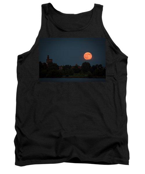 Orange Moon Tank Top