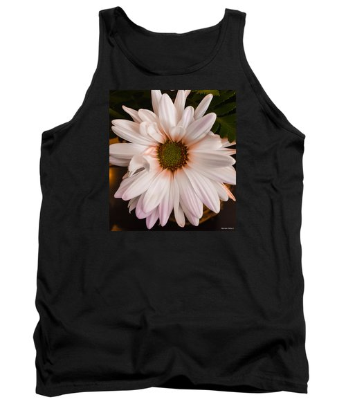 Orange Pastel Daisy Tank Top