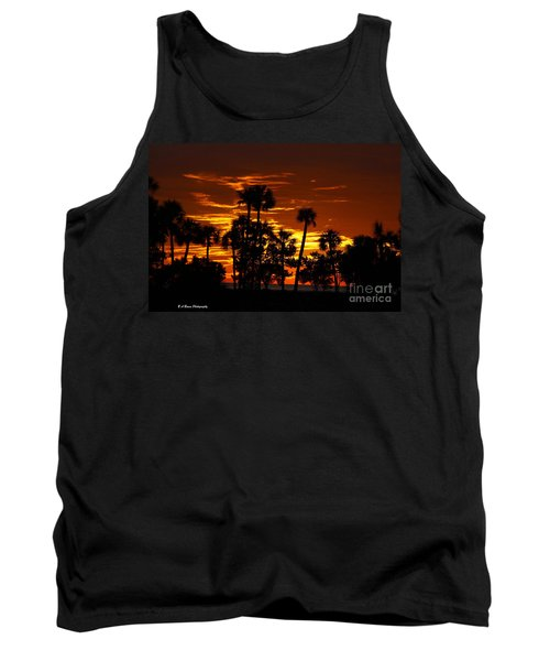 Orange Skies Tank Top