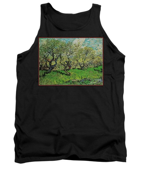 Orchard In Blossom Tank Top by Pemaro