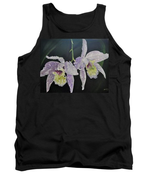 Orchid Jewels Tank Top