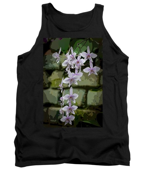 Orchid Waterfall Tank Top