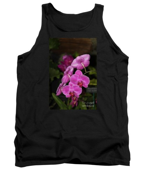 Orchids Alicia Tank Top by The Art of Alice Terrill