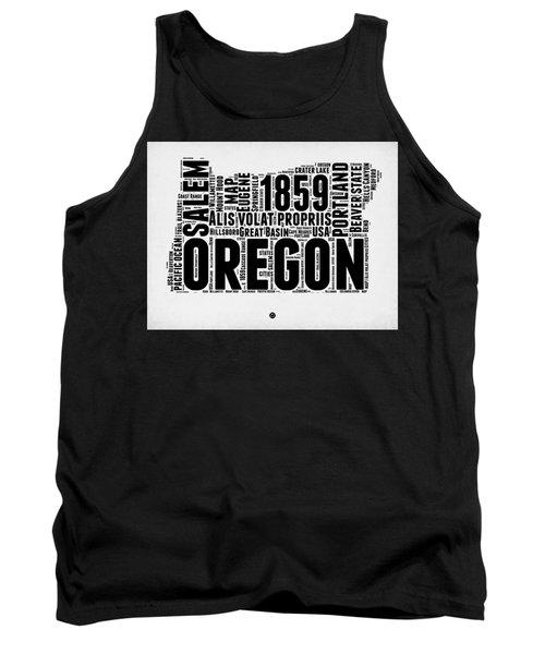 Oregon Word Cloud 1 Tank Top