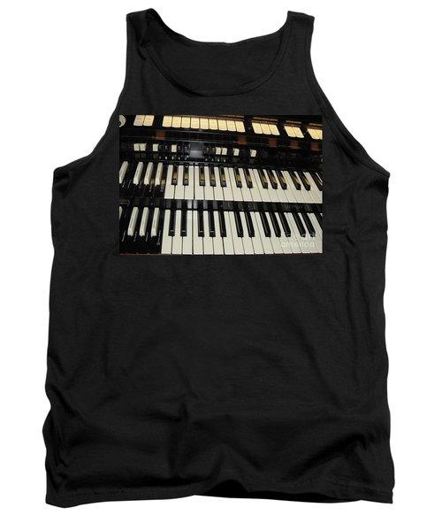 Hammond Organ Keys Tank Top