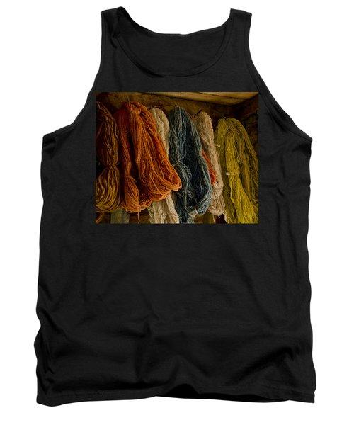 Organic Yarn And Natural Dyes Tank Top