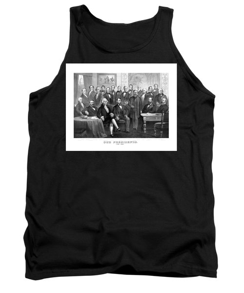 Our Presidents 1789-1881 Tank Top