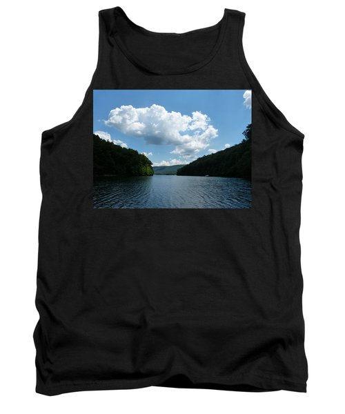 Out Of The Cove Tank Top by Donald C Morgan