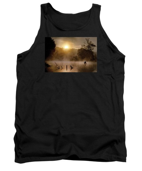 Out Of The Gloom Tank Top by Robert Charity