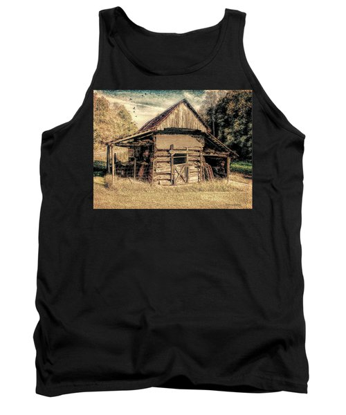 Out To Pasture 1 Tank Top by Bellesouth Studio