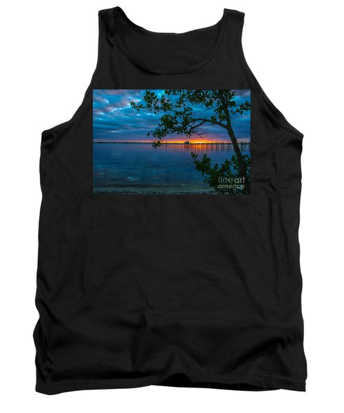 Overcast Sunrise Tank Top by Tom Claud