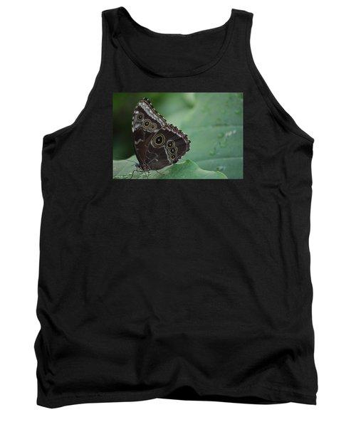 Owl Butterfly Tank Top