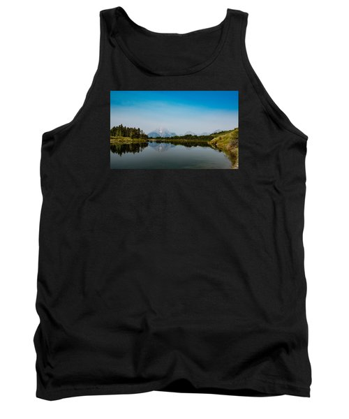 Tank Top featuring the photograph Oxbow Bend by Cathy Donohoue