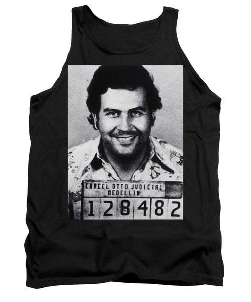 Pablo Escobar Mug Shot 1991 Vertical Tank Top