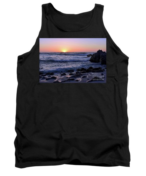 Tank Top featuring the photograph Pacific Twilight by Gina Savage