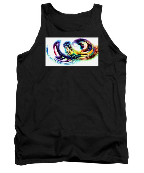 Painted Fantasy - Modern Art Tank Top by Merton Allen