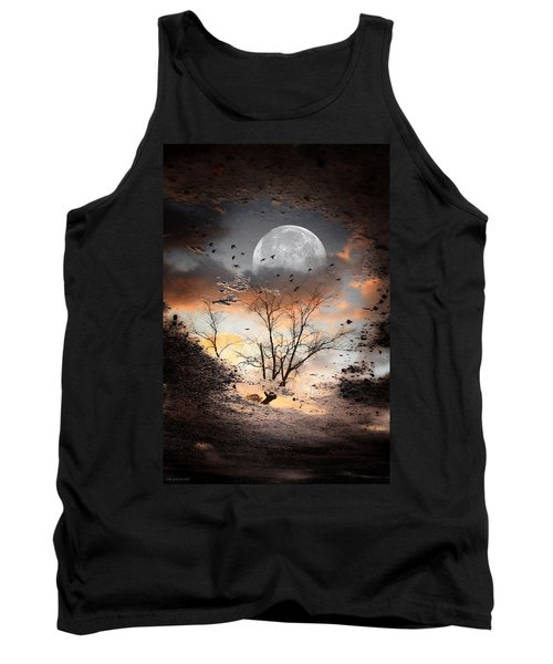 Painted Puddle Tank Top by Gray  Artus