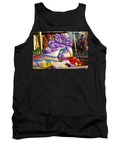 Painted Purple Pony Tank Top