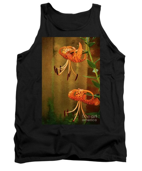Painted Tigers Tank Top