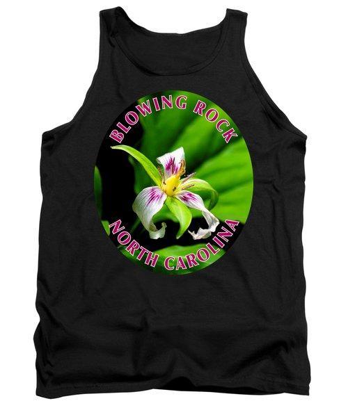 Painted Trillium T-shirt Tank Top