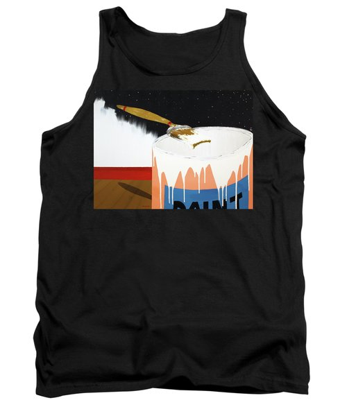 Painting Out The Sky Tank Top by Thomas Blood