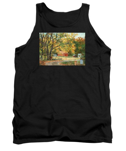 Painting The Fall Colors Tank Top