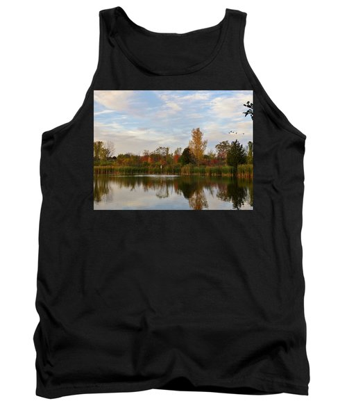 Painting The Pond Tank Top