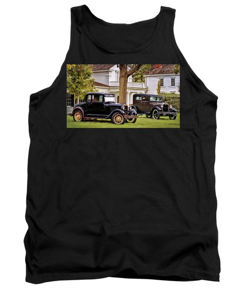 Pair Of Ford Model A  Tank Top