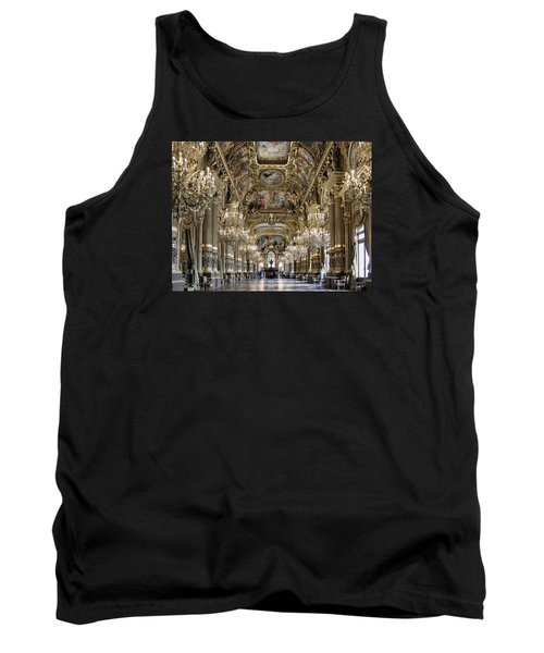 Palais Garnier Grand Foyer Tank Top by Alan Toepfer