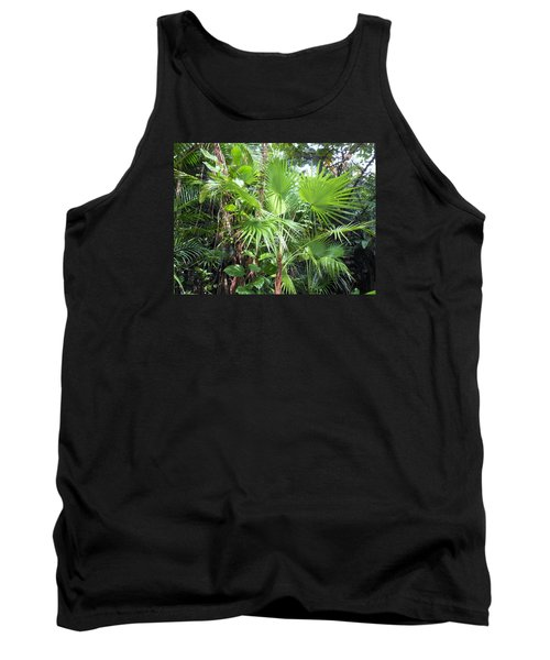 Tank Top featuring the photograph Palm Tree by Kay Gilley