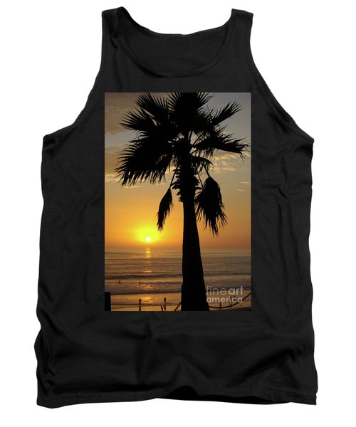 Palm Tree Sunset Tank Top