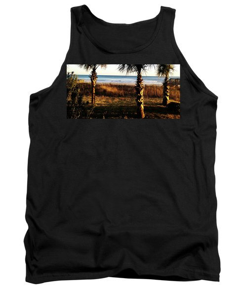 Palm Triangle Tank Top