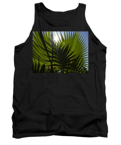 Tank Top featuring the photograph Palmetto 3 by Renate Nadi Wesley