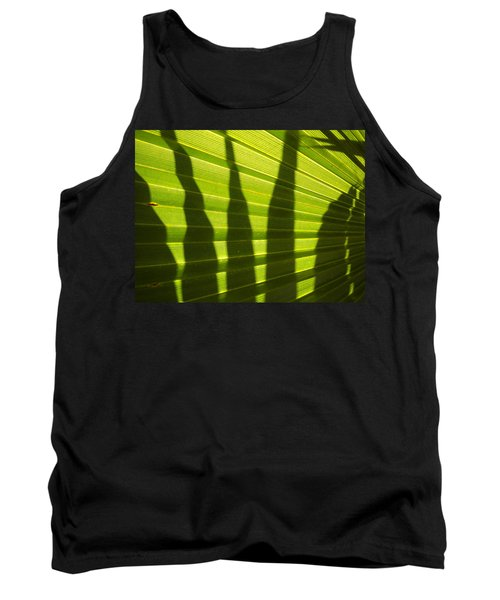 Tank Top featuring the photograph Palmetto 4 by Renate Nadi Wesley