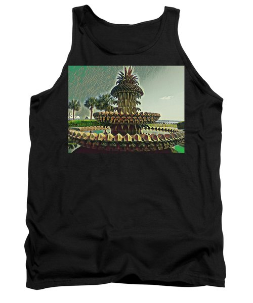 Palms And Pineapples Tank Top