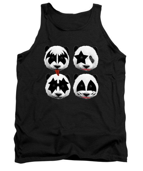 Panda Kiss  Tank Top
