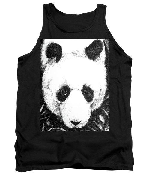 Panda Portrait Tank Top