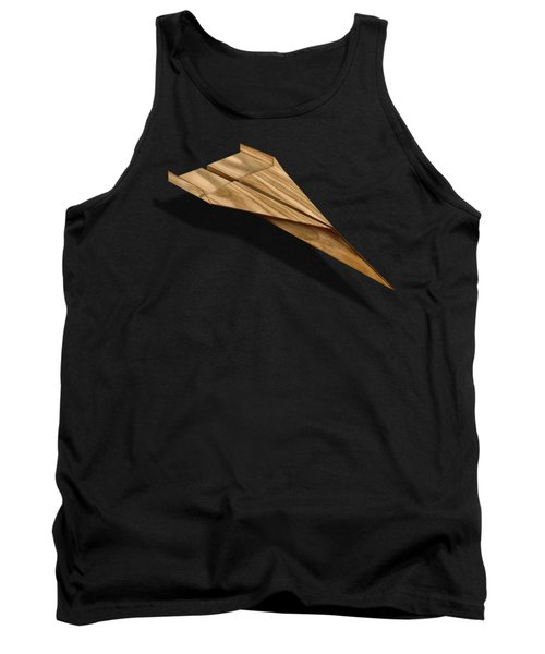 Paper Airplanes Of Wood 3 Tank Top by YoPedro
