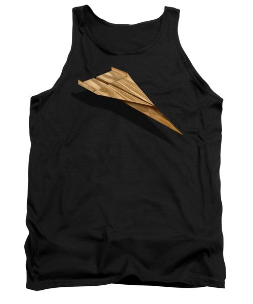 Paper Airplanes Of Wood 3 Tank Top