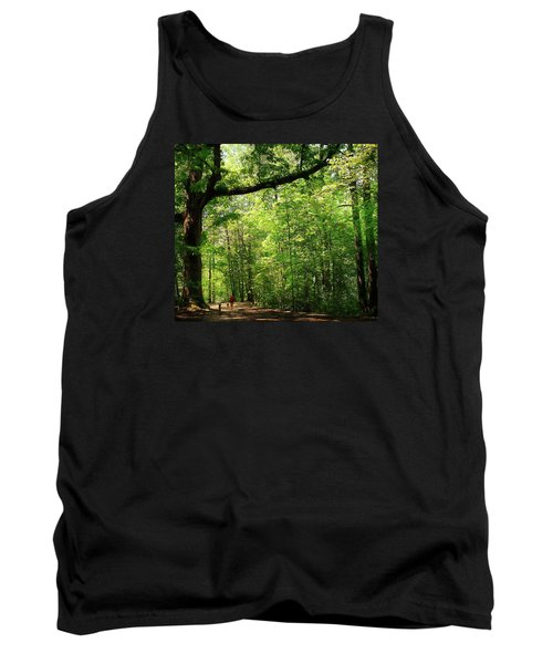 Paris Mountain State Park South Carolina Tank Top by Bellesouth Studio