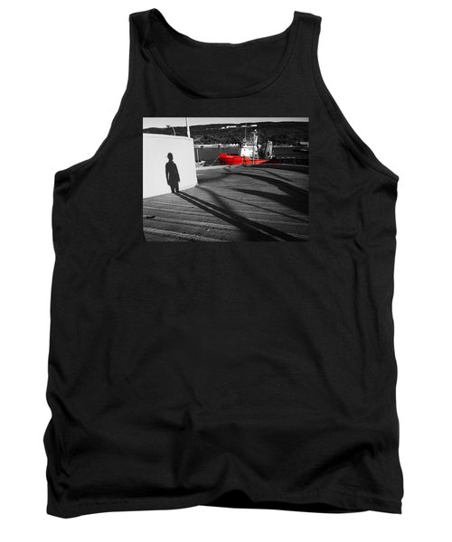 Tank Top featuring the photograph Parting by Zinvolle Art
