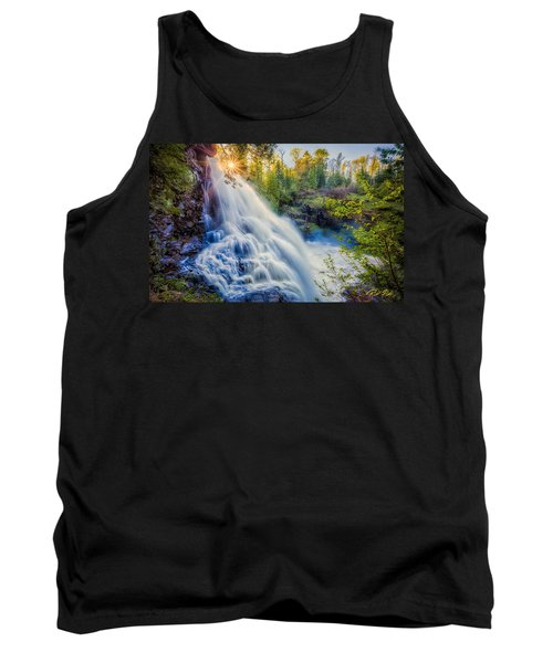 Partridge Falls In Late Afternoon Tank Top