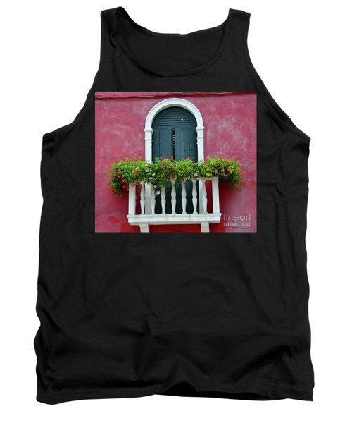 Pastel Colors Of Burano  Tank Top