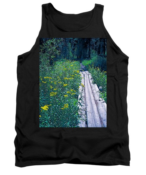 Path 4 Tank Top by Pamela Cooper