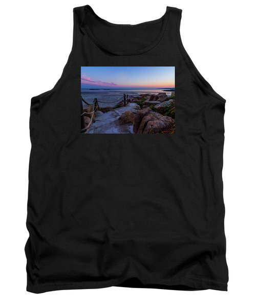 Path To The Beach Tank Top by Tim Kirchoff
